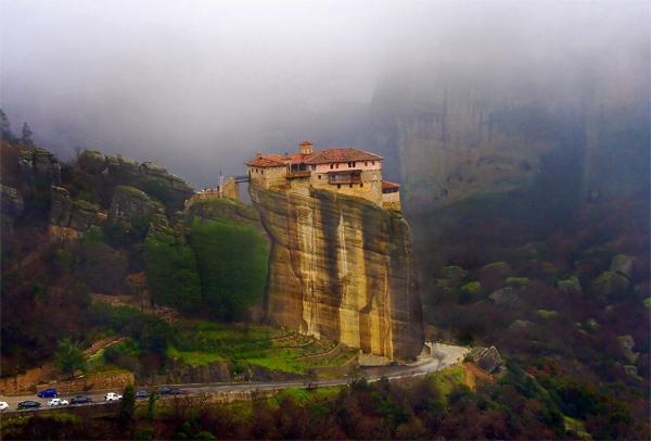 Les monastères et villes du bout du monde! Meteor12