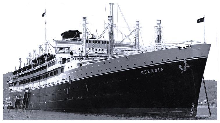 motonave 'Oceania' - Cosulich - 1933 10_sba10