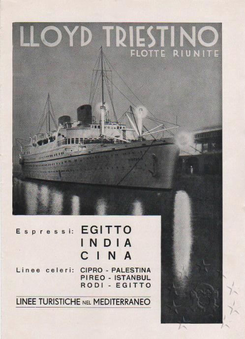 motonave 'Victoria' - Lloyd Triestino - 1931 1210