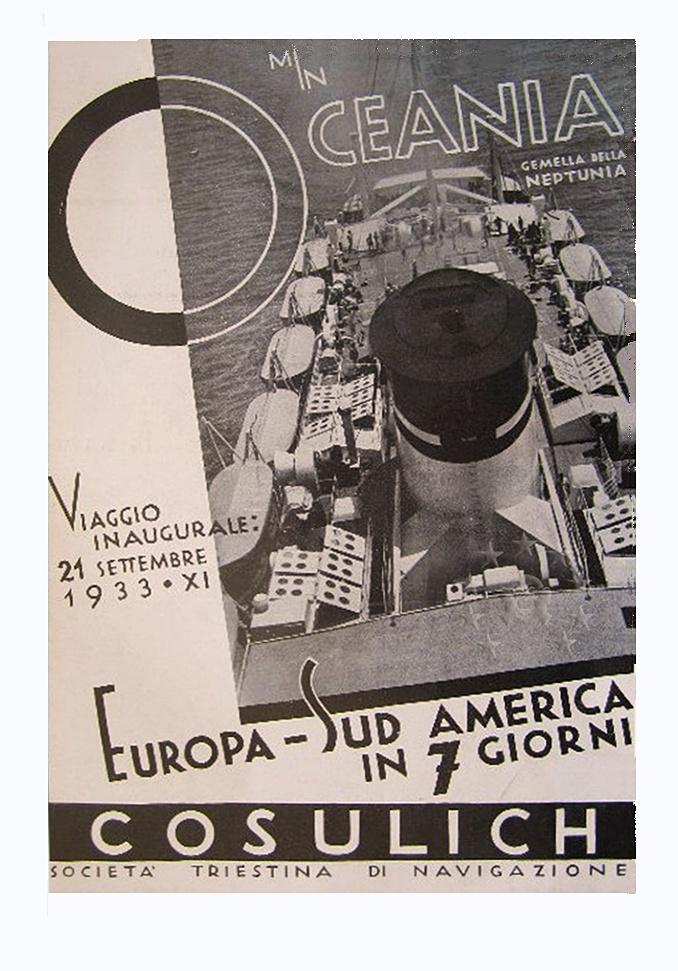 motonave 'Oceania' - Cosulich - 1933 17c_vi10