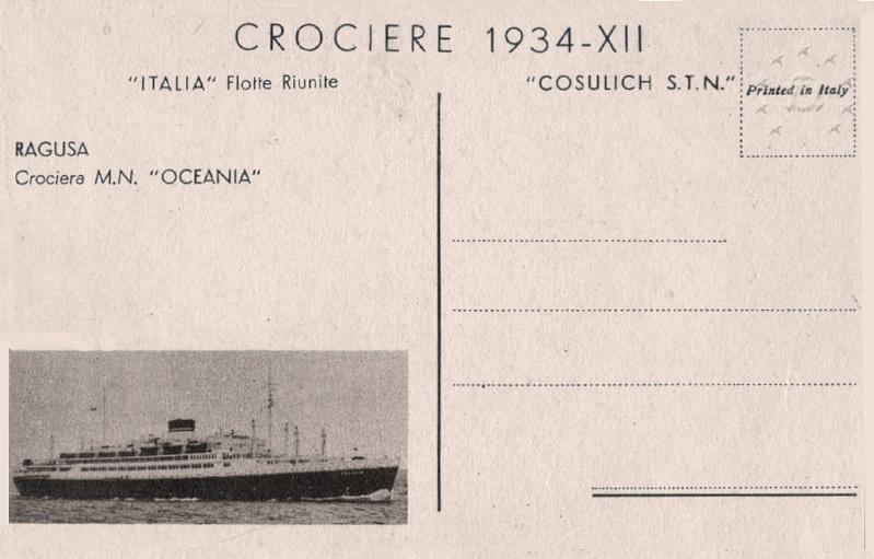 motonave 'Oceania' - Cosulich - 1933 22_car10