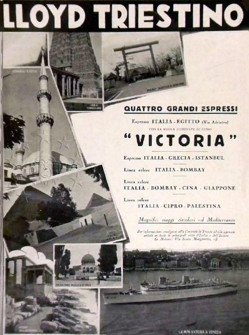 motonave 'Victoria' - Lloyd Triestino - 1931 410