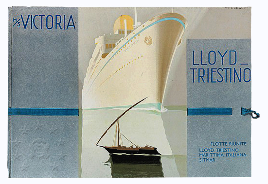 motonave 'Victoria' - Lloyd Triestino - 1931 512