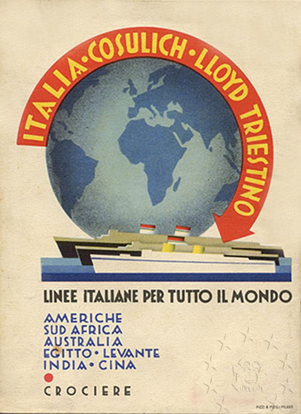 motonave 'Victoria' - Lloyd Triestino - 1931 911