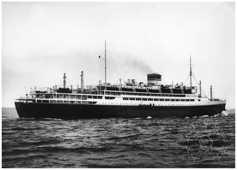 motonave 'Oceania' - Cosulich - 1933 Miste035