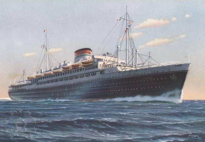 motonave 'Oceania' - Cosulich - 1933 Nave_o10