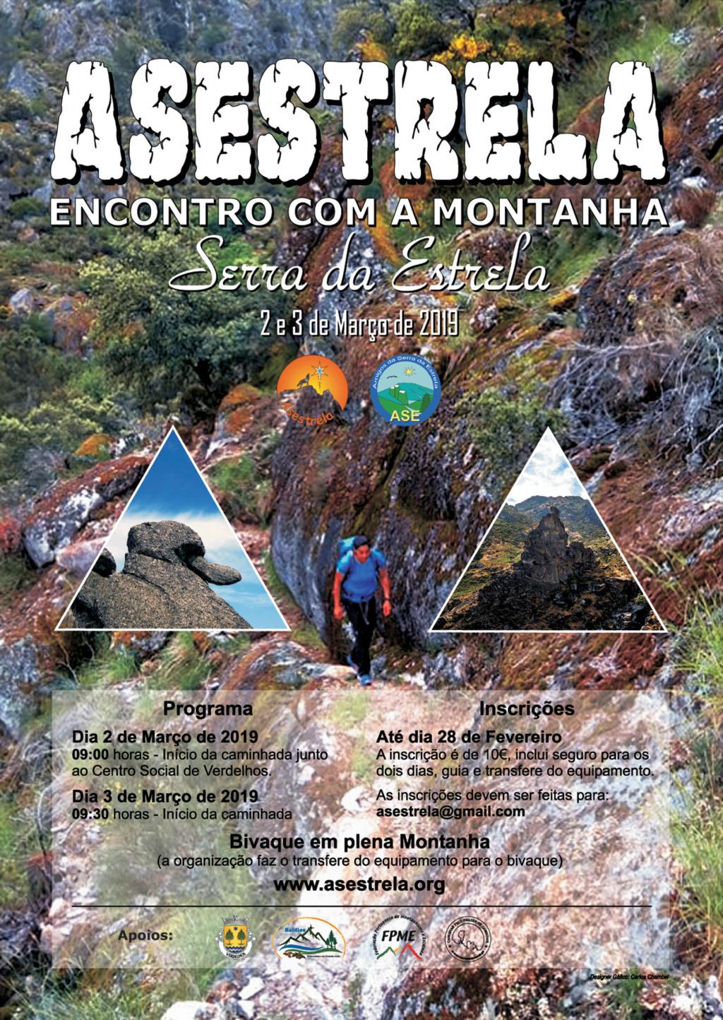 aSESTRELA - 2019/03/02 e 3 - Asestrela 2019 - Encontro Com a Montanha - Serra da Estrela Cartaz10