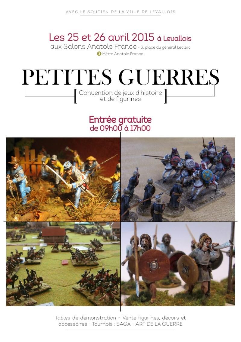 Petites Guerres 2015: 25 et 26 avril Affich10