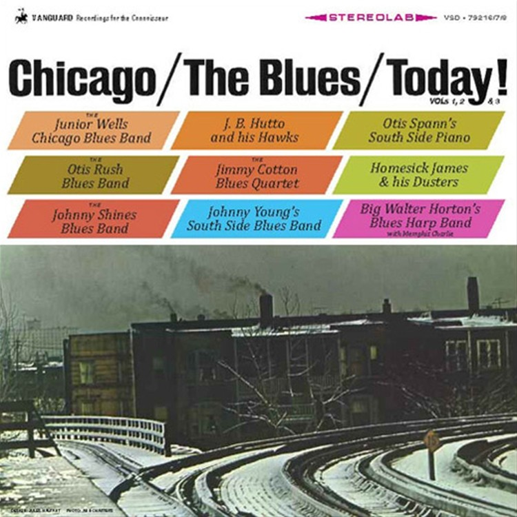 Various Artist - Chicago The Blues Today ! 4229810