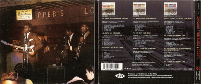Various Artist - Chicago The Blues Today ! Backin10
