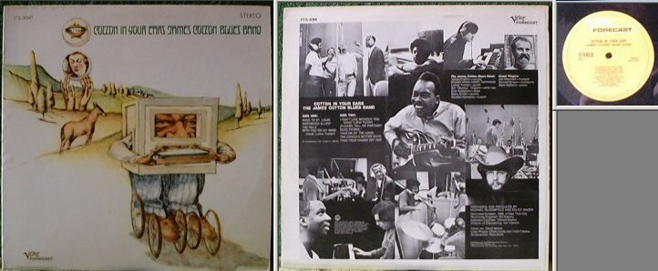 The James Cotton Blues Band : Cotton In Your Ears (1968) Fvb09610
