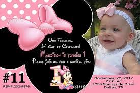 faire part theme minnie Minnie10