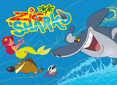 Dessin Animé Zig Et Sharko