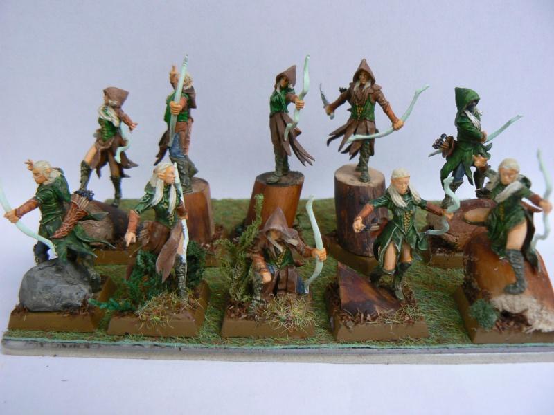 Mon Armée Elfes Sylvains Forest10