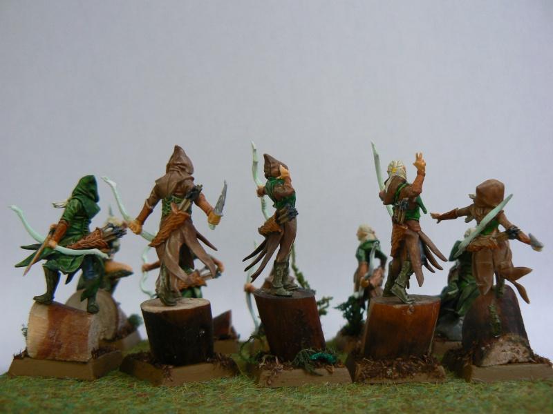 Mon Armée Elfes Sylvains Forest11