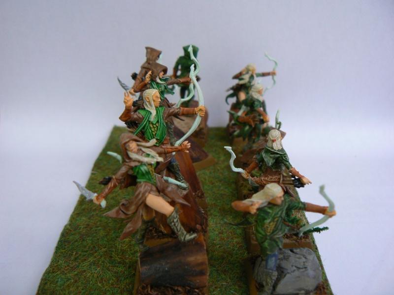 Mon Armée Elfes Sylvains Forest13