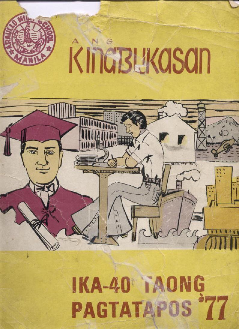 """ANG KINABUKASAN"" – ARAULLO HIGH SCHOOL BATCH 1977 YEARBOOK Ang_ki10"