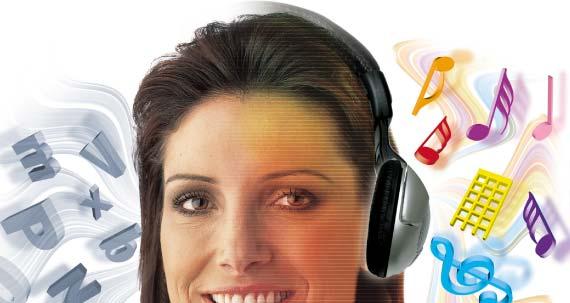 Estudo mostra que se ouve melhor música do lado esquerdo e frases do lado direito. Cienci10