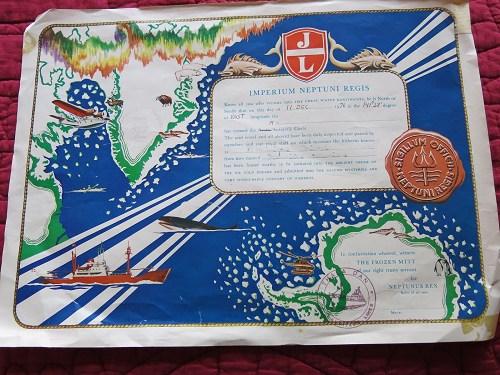 [Les traditions dans la Marine] Passage du cercle polaire (Sujet unique) - Page 3 _copie17