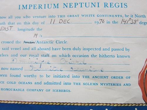[Les traditions dans la Marine] Passage du cercle polaire (Sujet unique) - Page 3 _copie18