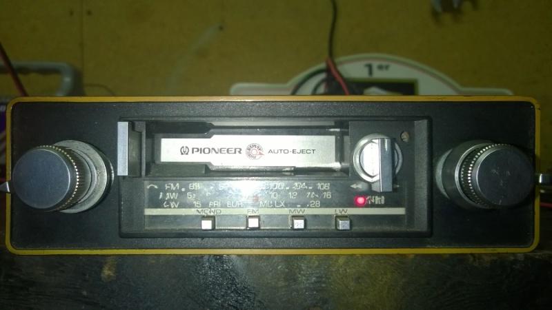 autoradio cassette pioneer Wp_20111
