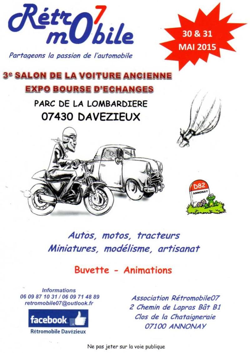 [07] 30 et 31/05/2015 - Davézieux - 3ème Salon expo bourse Img15711
