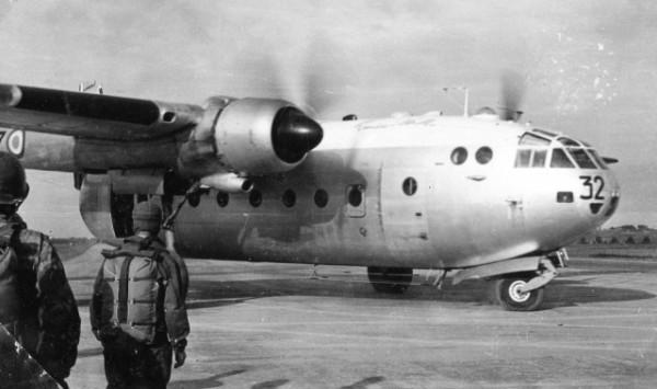Noratlas n° 32 - Mis en service le3août 1954 - Fin de service le 5 mars 1984 17939710