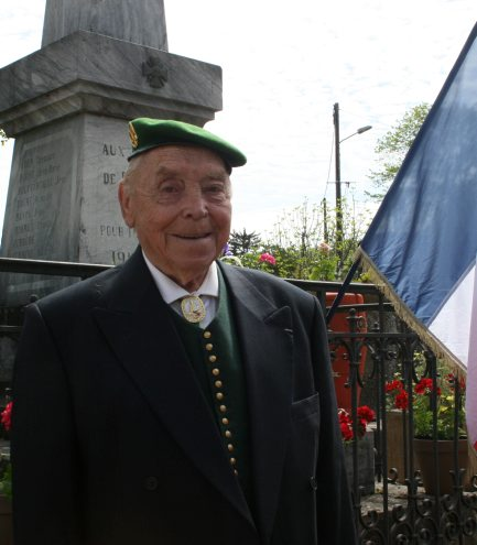 Hommage au légionnaire René Pardon 20150511