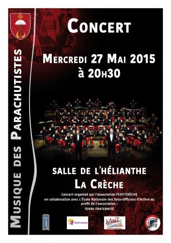 La musique des parachutistes en concert près de Saint-Maixent, le 27 mai 93909710