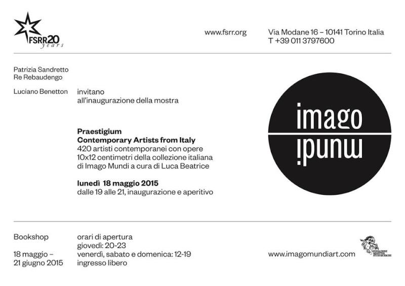 Imago Mundi - Collettiva Arte Contemporanea - 18 Maggio-21 Giugno 2015 - Torino 0110