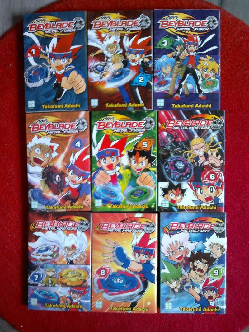 Vente de toute ma collection POP + Manga,Anime Beybla10