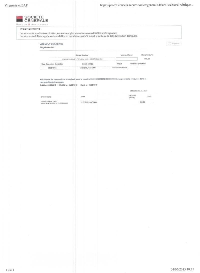 CAGNOTTE FRAIS VETERINAIRE POUR LES LOULOUS DU REFUGE - Page 4 2015_016
