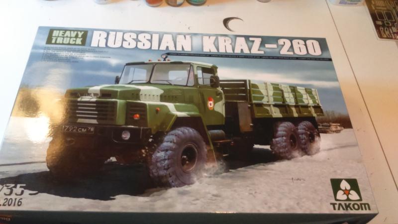 KRAZ 260 Takom 1/35e Dsc_0041