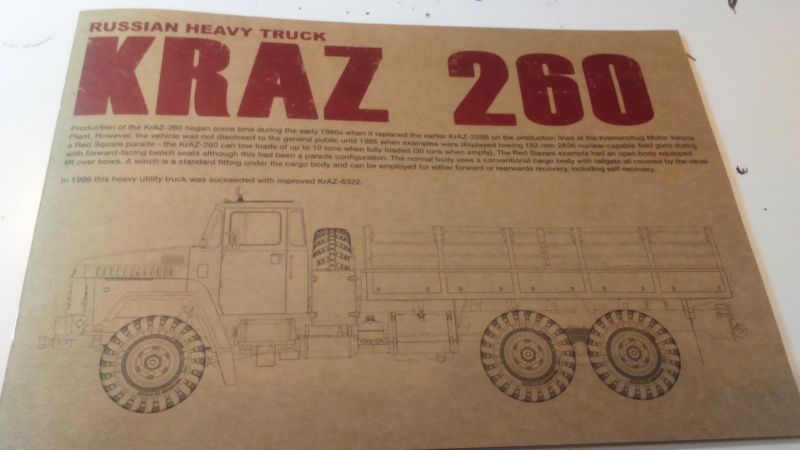 KRAZ 260 Takom 1/35e Dsc_0042