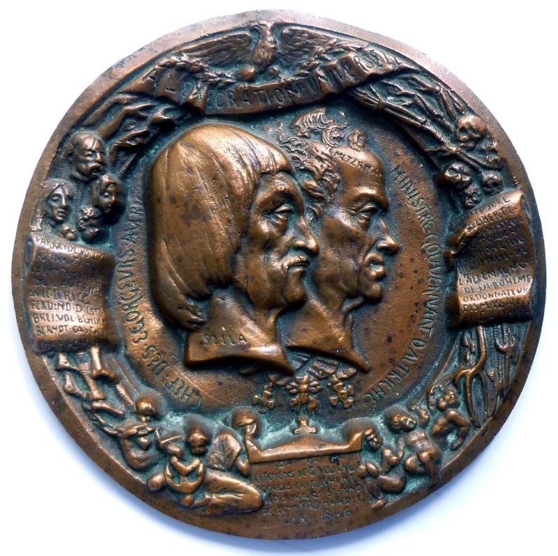 Un bout d'histoire de la Galicie par une médaille ciselée probablement unique  0589210