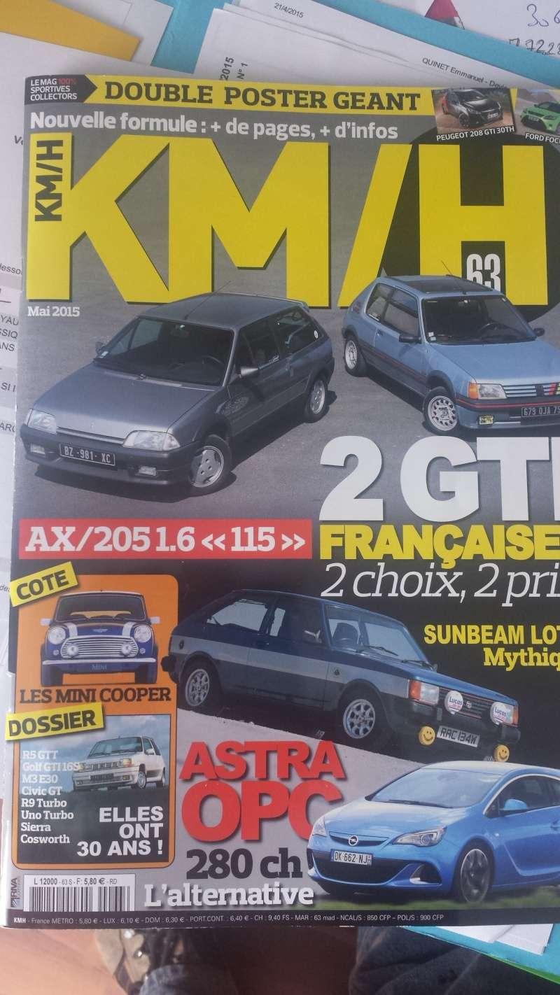 La Mini et la presse Kms11