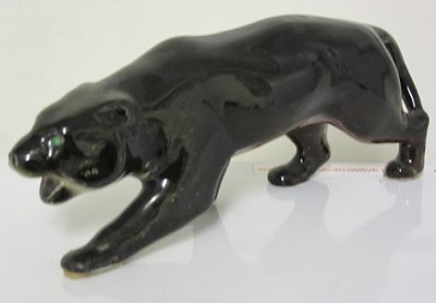A Crown Lynn Panther from the collection of Manos Crown_11