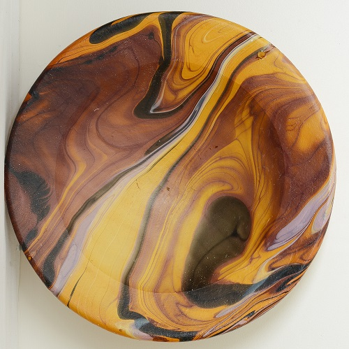 Is this beautiful marbled bowl New Zealand Pottery? Denis110