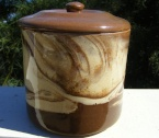Te Rona lidded storage jar from meoldchina Te_ron11