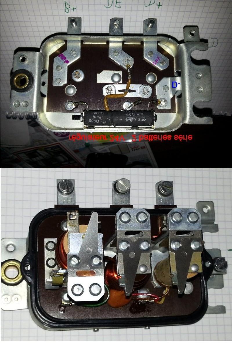 Transformation dynamo pour produire du positif au lieu de négatif  Bosch210