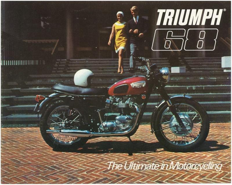 TRIUMPH BONNEVILLE T120R 1968 Kgrhqf10