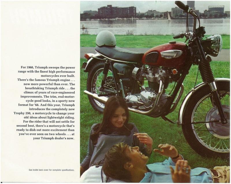 TRIUMPH BONNEVILLE T120R 1968 Kgrhqv10