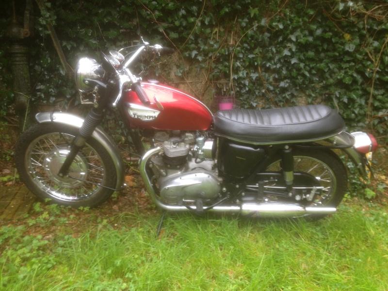 TRIUMPH BONNEVILLE T120R 1968 Triump10