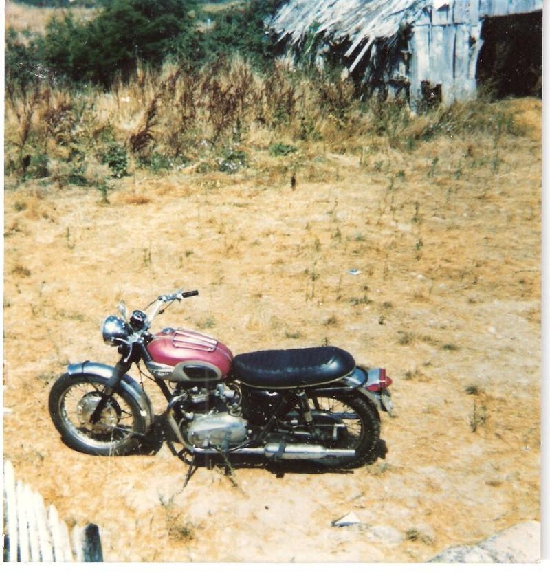 TRIUMPH BONNEVILLE T120R 1968 Vacanc10