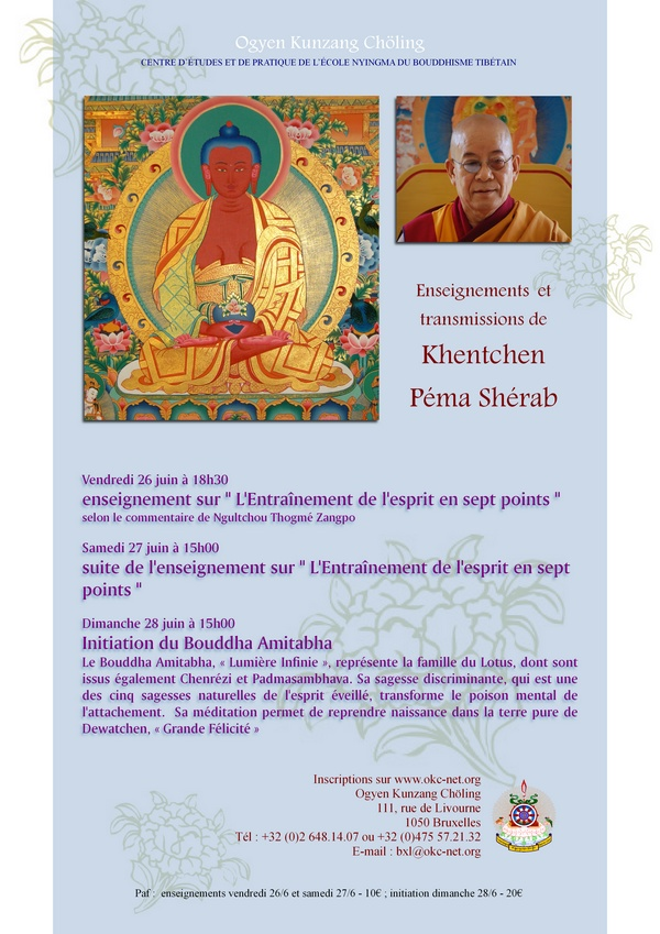 Khenchen Pema Sherab à Bruxelles JUIN 2015 28072e11