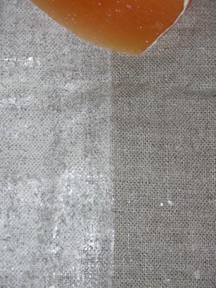 Guêtres en toile ciré réalisation et test G0210