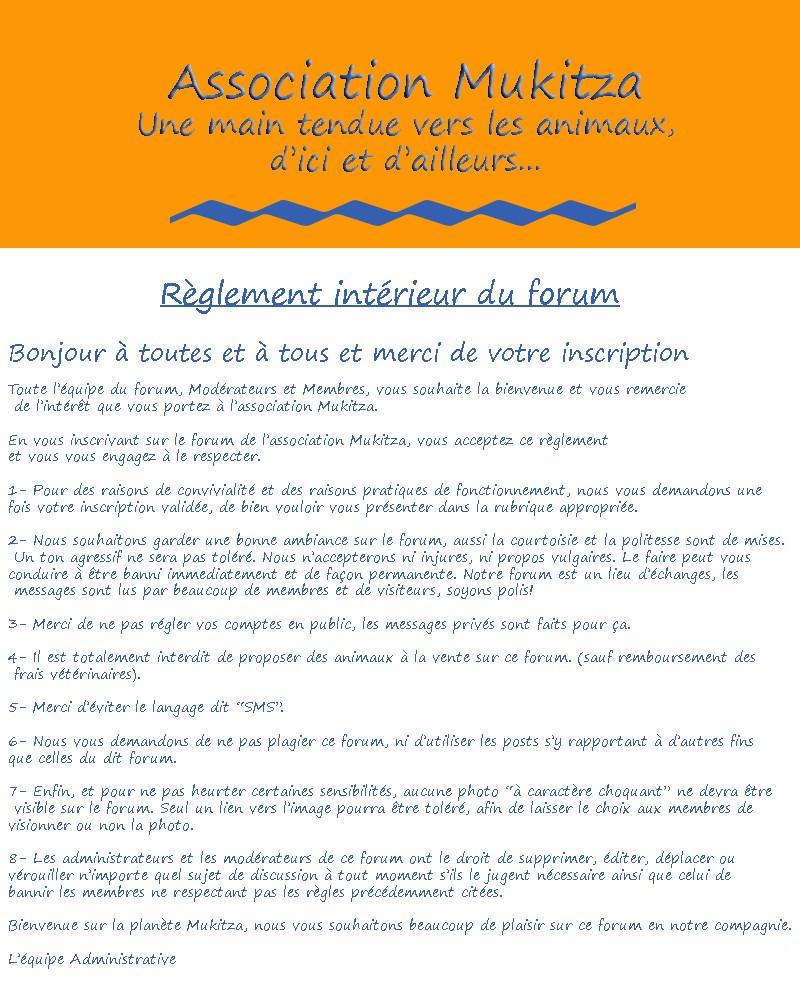 Règlement du forum => A LIRE ! Raglem11