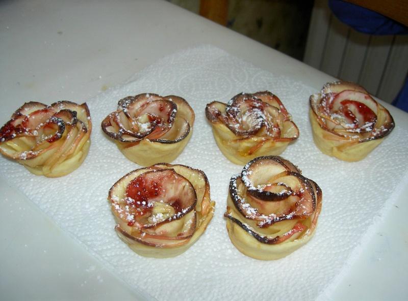 Rose feuilletée aux pommes Pict4511
