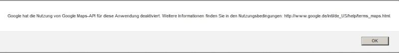 Google-API unter APRS.FI nicht erreichbar! Zwisch12