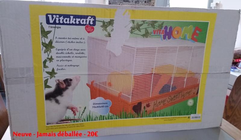 [VENTE] 3 cages - Royal suite - Vitahome rat NEUVE - Marchioro Tommy62 Rat_ca10